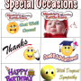 Special Occasion Labels