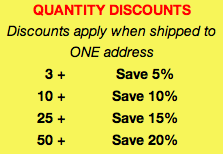 tuxedo small quantity discounts