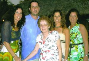 The Sindoni Family. Maria, Anthony, Mom, Kathy, Fran