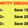 Snack Pack Quantity Discounts