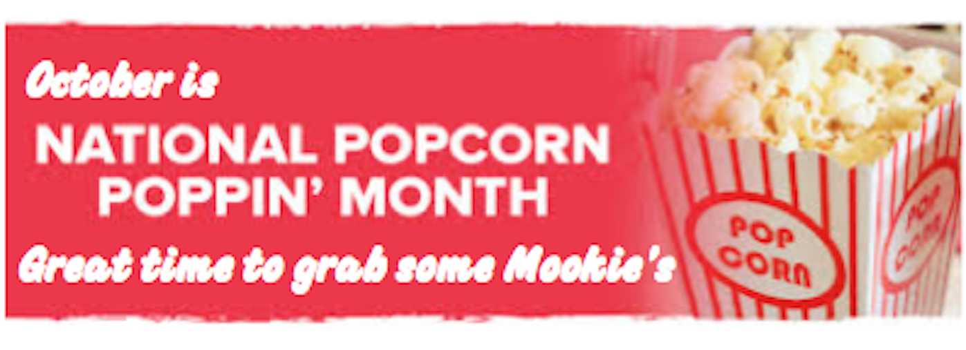 October is National Popcorn Month