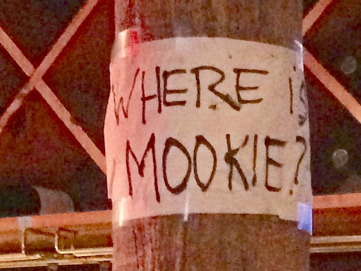Where's Mookie?